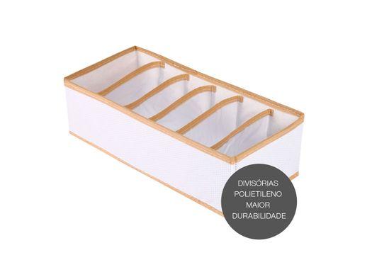 organizador-vizapi-un-classic-6-divisorias-35x15-cm-branco-bege-1932-1932-1