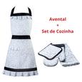 Kit-de-Avental-Luvas-Pano-de-Prato-e-Descanso-de-Panela-Vizapi-Tradicional-Multicolorido